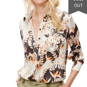 Free People Under The Palms button down blouse